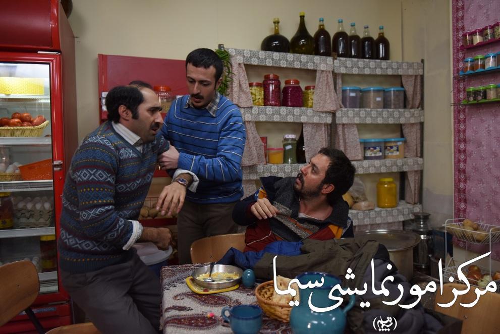 حسام محمودی  هاد یکاظمی در نمایی از زعفرانی