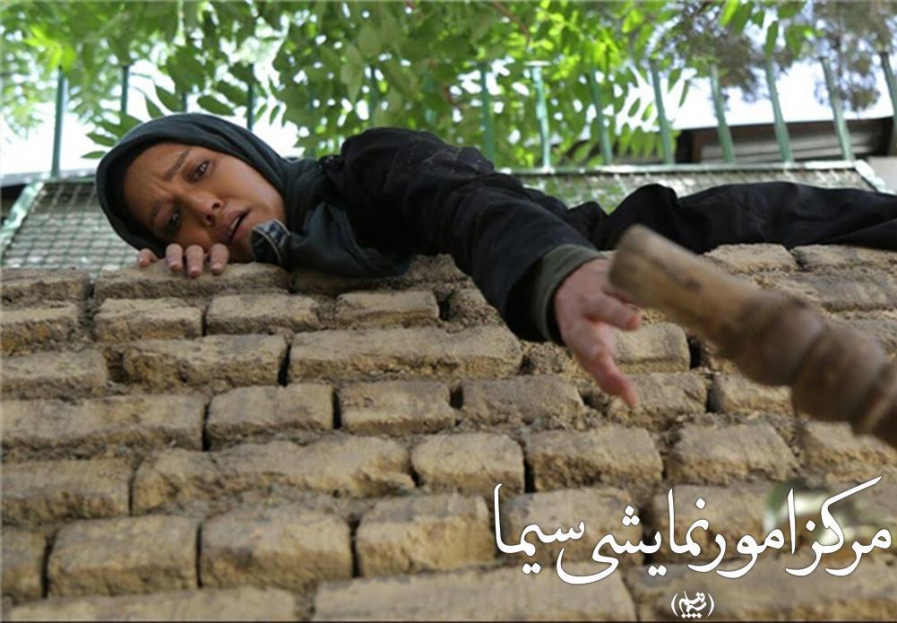 شهرزاد کمال زاده در حال ایفای نقش در سریال