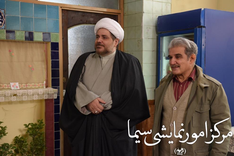 سید مهرداد ضیایی بازیگر توانای تلویزیون و سینما در کنار مهدی هاشمی